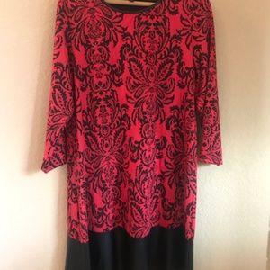 Tiana B Knit Swing Dress